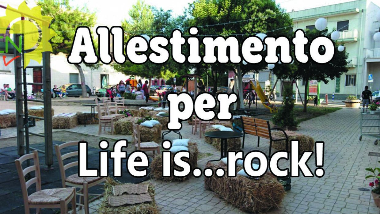 Allestimento per Life is…rock!