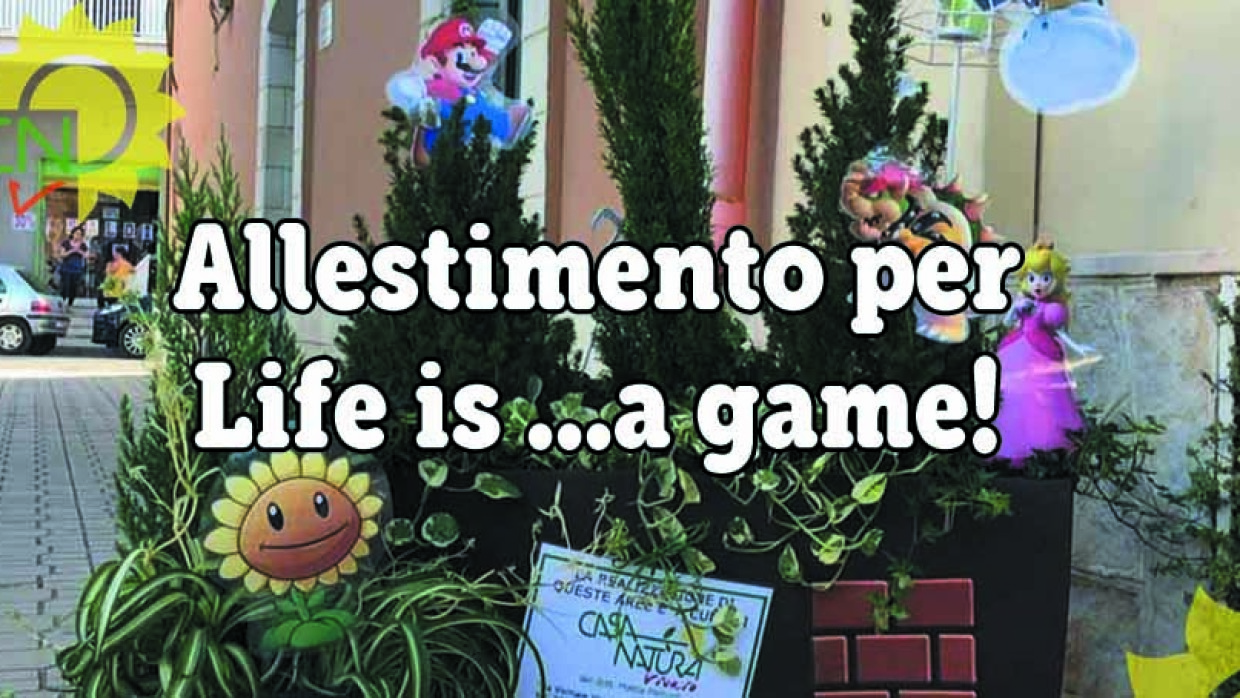 Allestimento per Life is… a game!